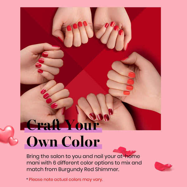 Gel Polish 6 Colors Set | Bloody Mary