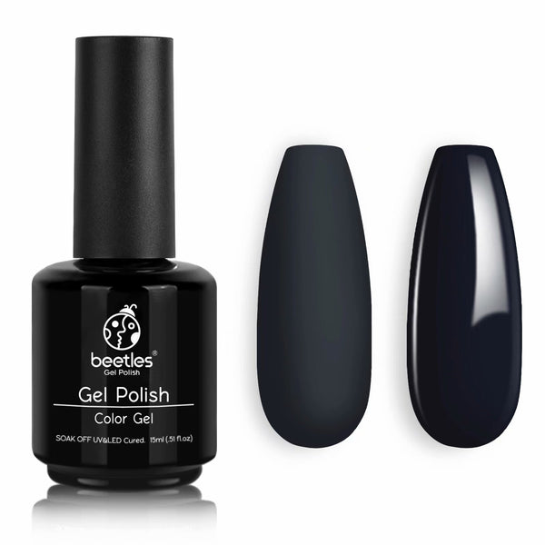 Gel Nail Polish 15ml | Miranda Charcoal