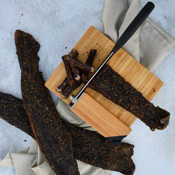 Biltong slab (avg. 1kg) - Dargle Valley dried cured meat beef