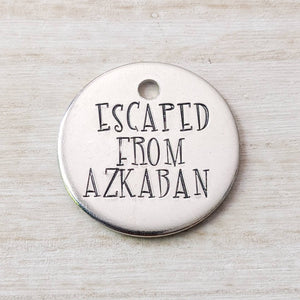 Escaped from Azkaban ID Tag