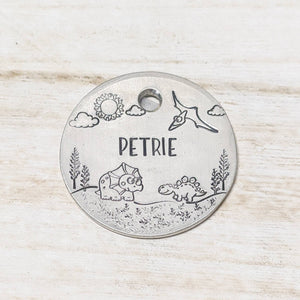 Land Before Time ID Tag