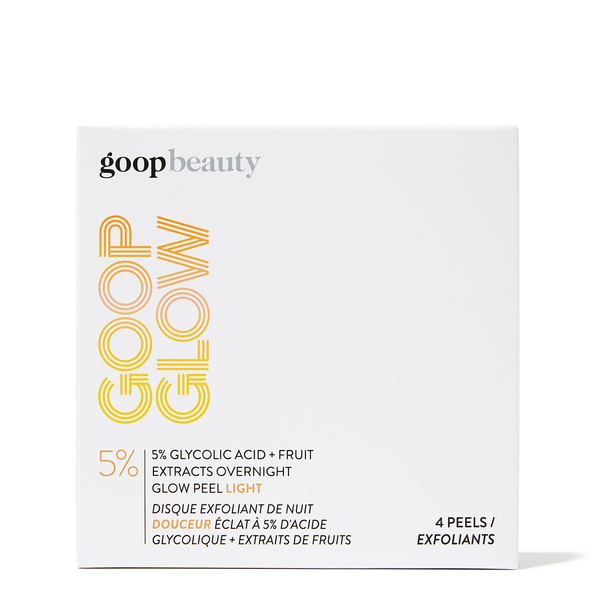 GOOPGLOW 5% Glycolic Acid Overnight Glow Peel Light