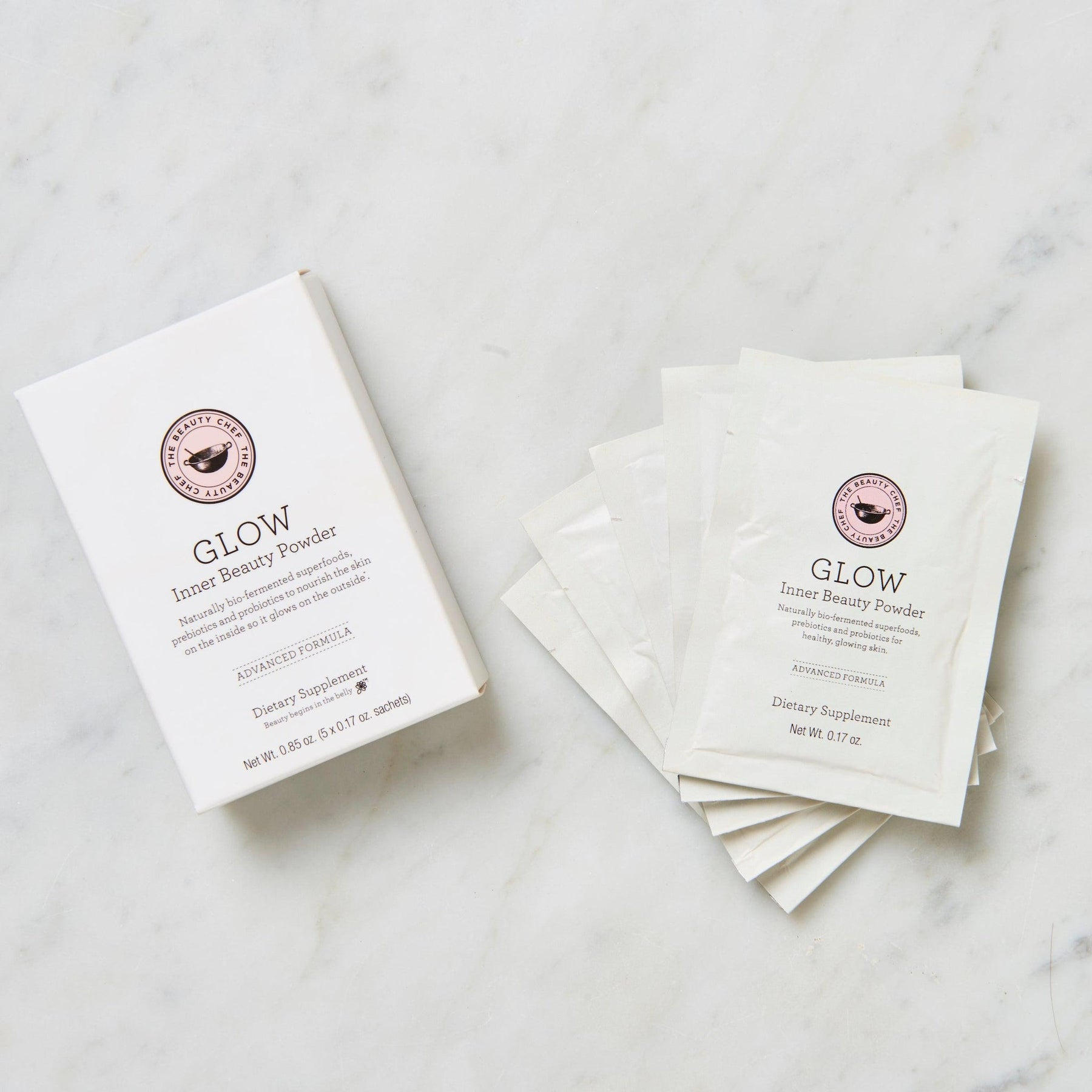 Glow Advanced Inner Beauty Powder Sachets