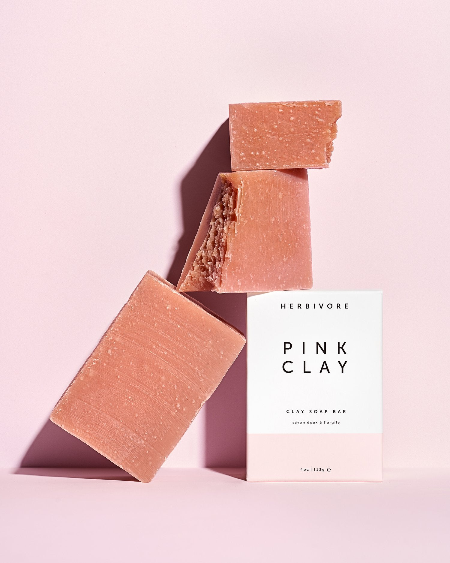 Pink Clay Cleansing Bar