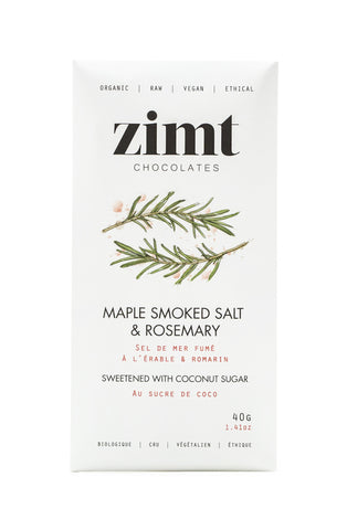 Maple Smoked Salt & Rosemary Bar