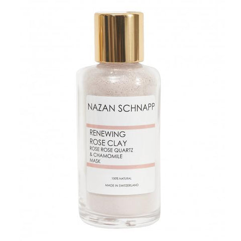 Nazan Schnapp Renewing rose clay rose rose quartz and chamomile mask - 100 ml