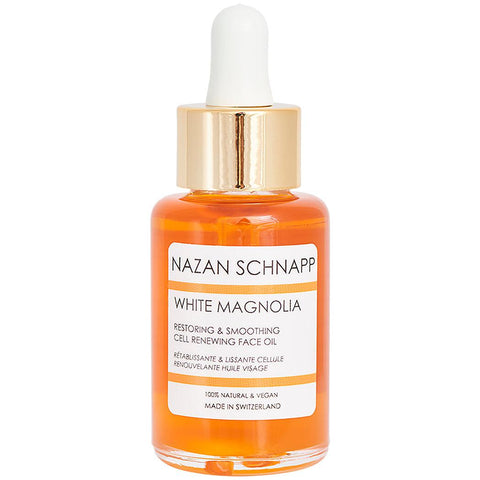 White Magnolia Restoring & Smoothing Cell Renewing Face Oil