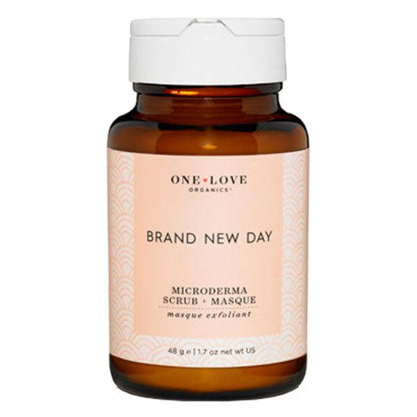 One Love Organics Brand New Day Face Scrub and Mask