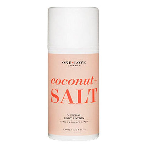 One Love Organics Coconut and Salt Mineral Body Lotion