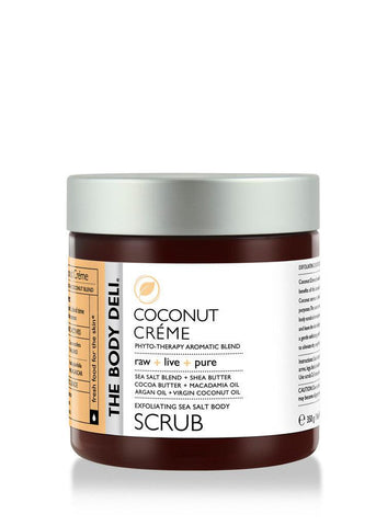Coconut Cr̬me Body Scrub