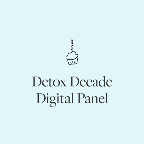 Detox Decade - A digital celebration!