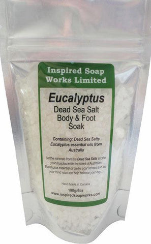 Eucalyptus Bath Salts 6 oz