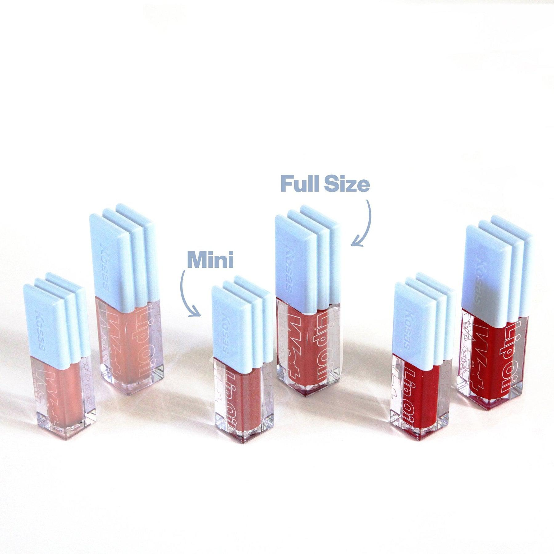 Mini Wet Set Lip Oil Trio