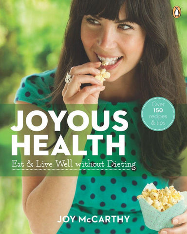 Joyous Health Book by Joy McCarthy