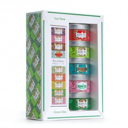 Kusmi Tea Green Teas Gift Set
