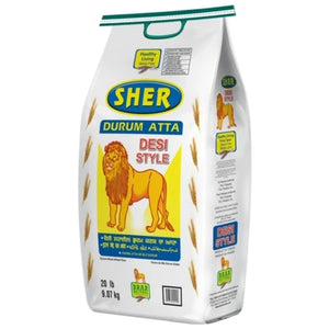 Sher Desi Style Atta 20lbs at Just $5.99- On Door Grocery Blog