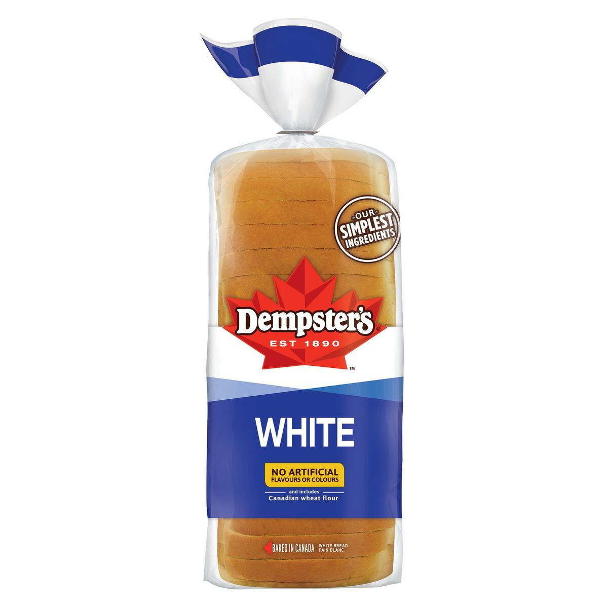 Dempsters White Bread 570g