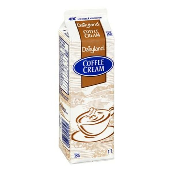 Dairyland Coffee Cream 18% 1ltr