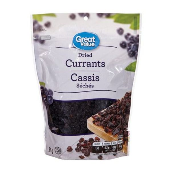 Great Value Dried Currants 375g