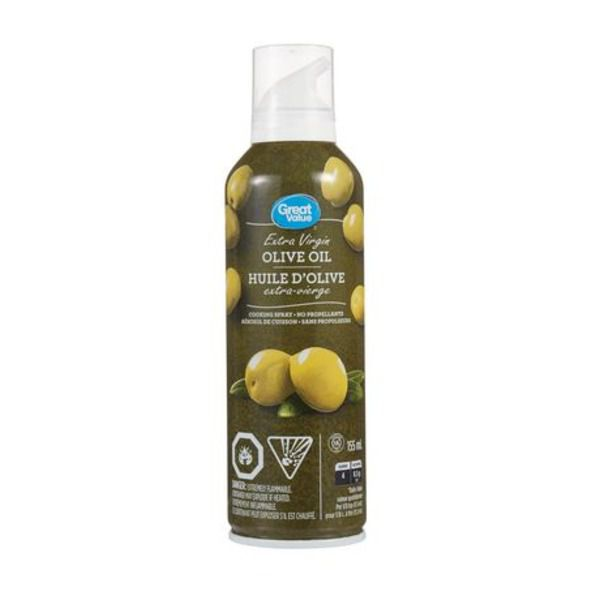 Great Value Extra Virgin Olive Oil Cooking Spray 155ml