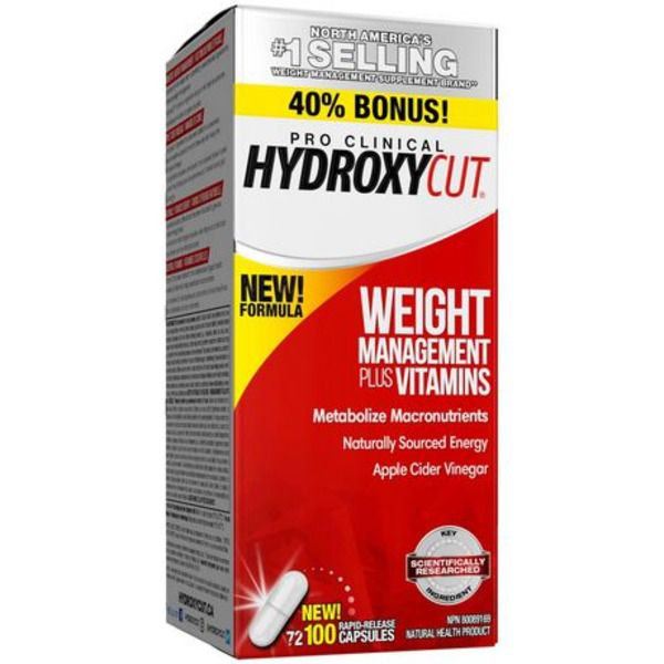 Hydroxycut Weight Management Plus Vitamins 100ct