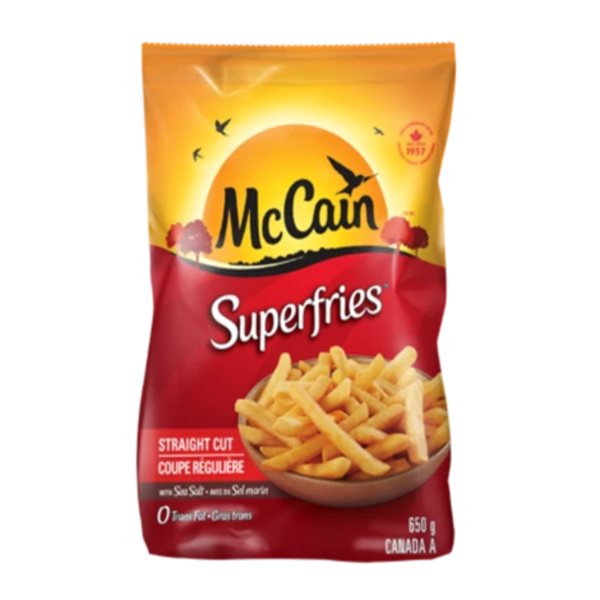 Mccain Superfries 650g