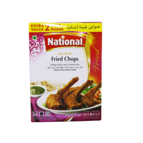 National Fried Chops Masala 100g