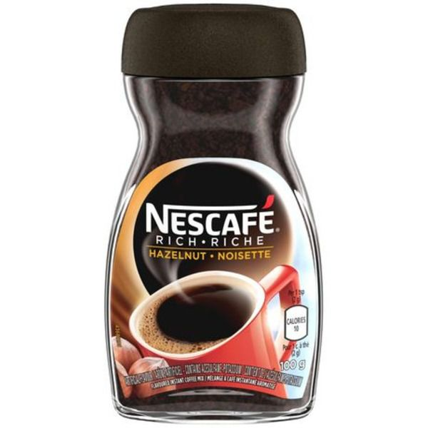Nescafe Rich Hazelnut Coffee 100g