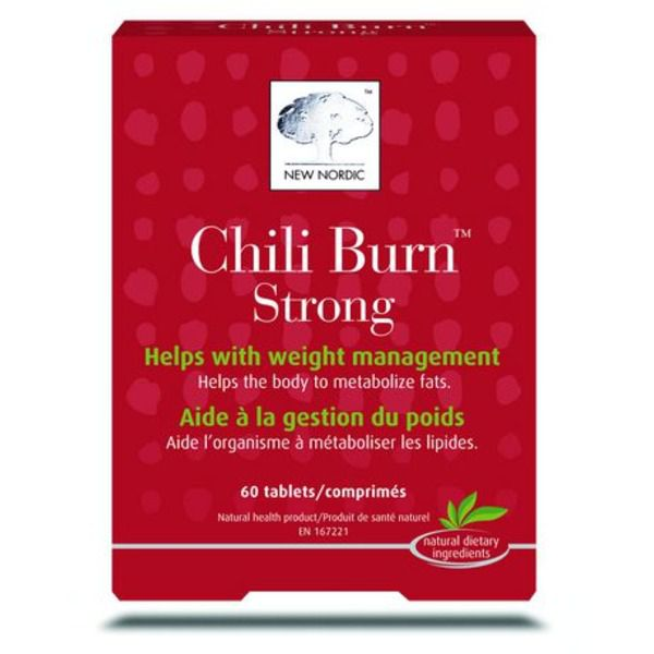 New Nordic Chili Burn 60ct