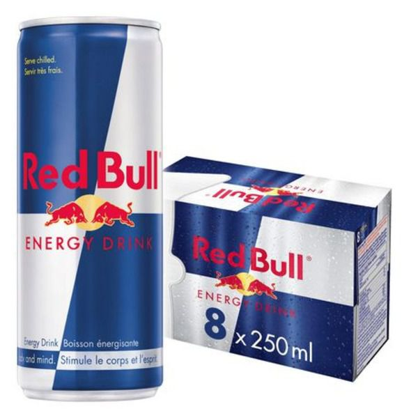 Red Bull Energy Drink 8ct 2ltr