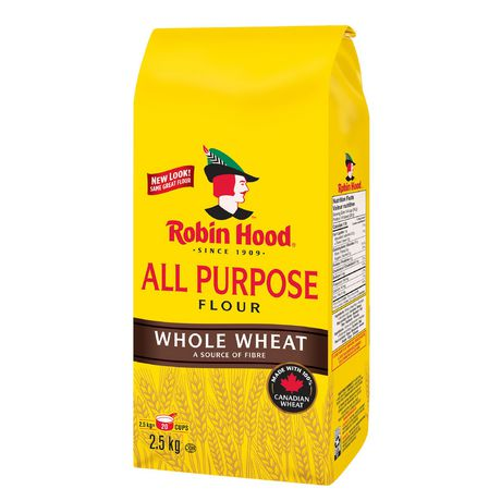 Robin Hood Whole Wheat All Purpose Flour 2.5kg