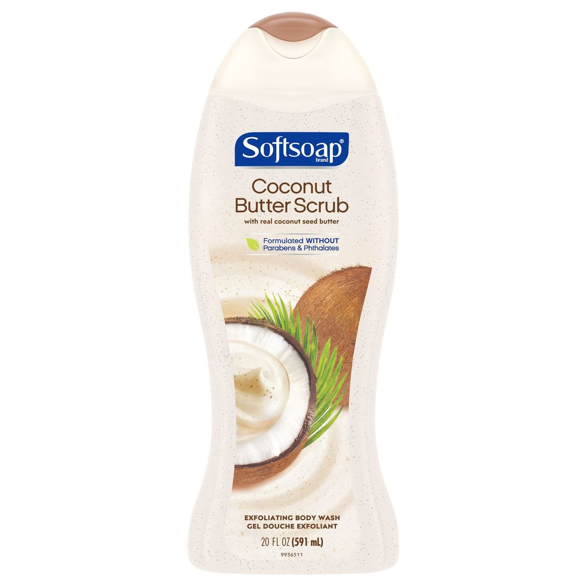 Softsoap Coconut Butter Scrub Bodywash 591ml