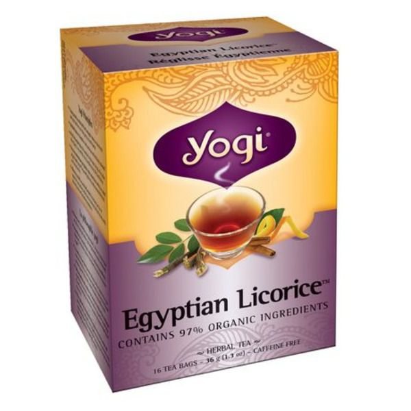 Yogi Egyptian Licorice Tea 16Bags 36g