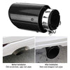 Temperature Resistant LED Light Tailpipe