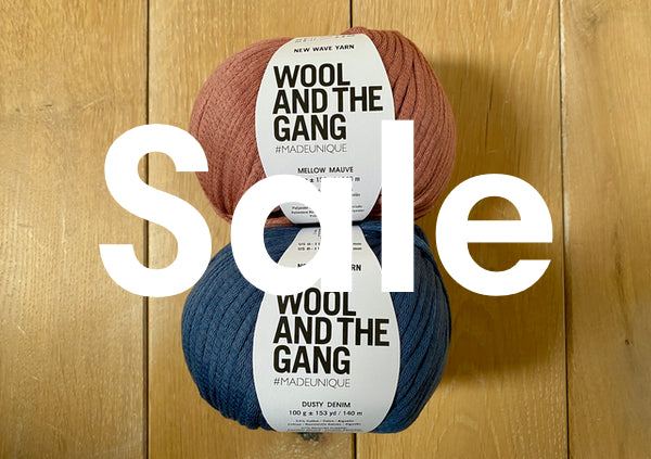 Wool and the Gang Sale New Wave Yarn