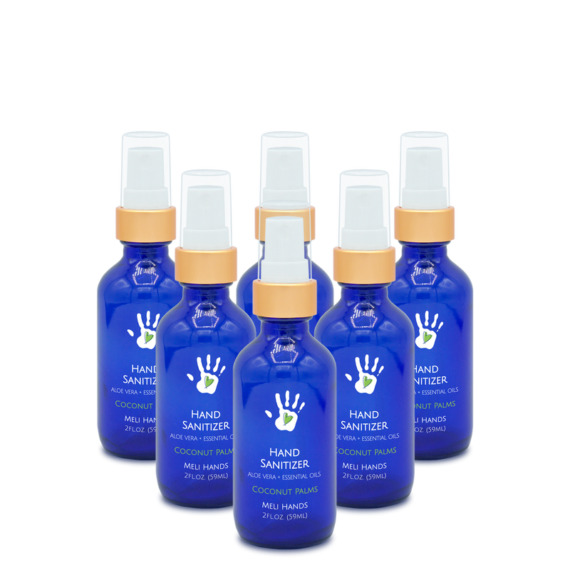 6-pack, 2oz Spritzer - Hand Sanitizer