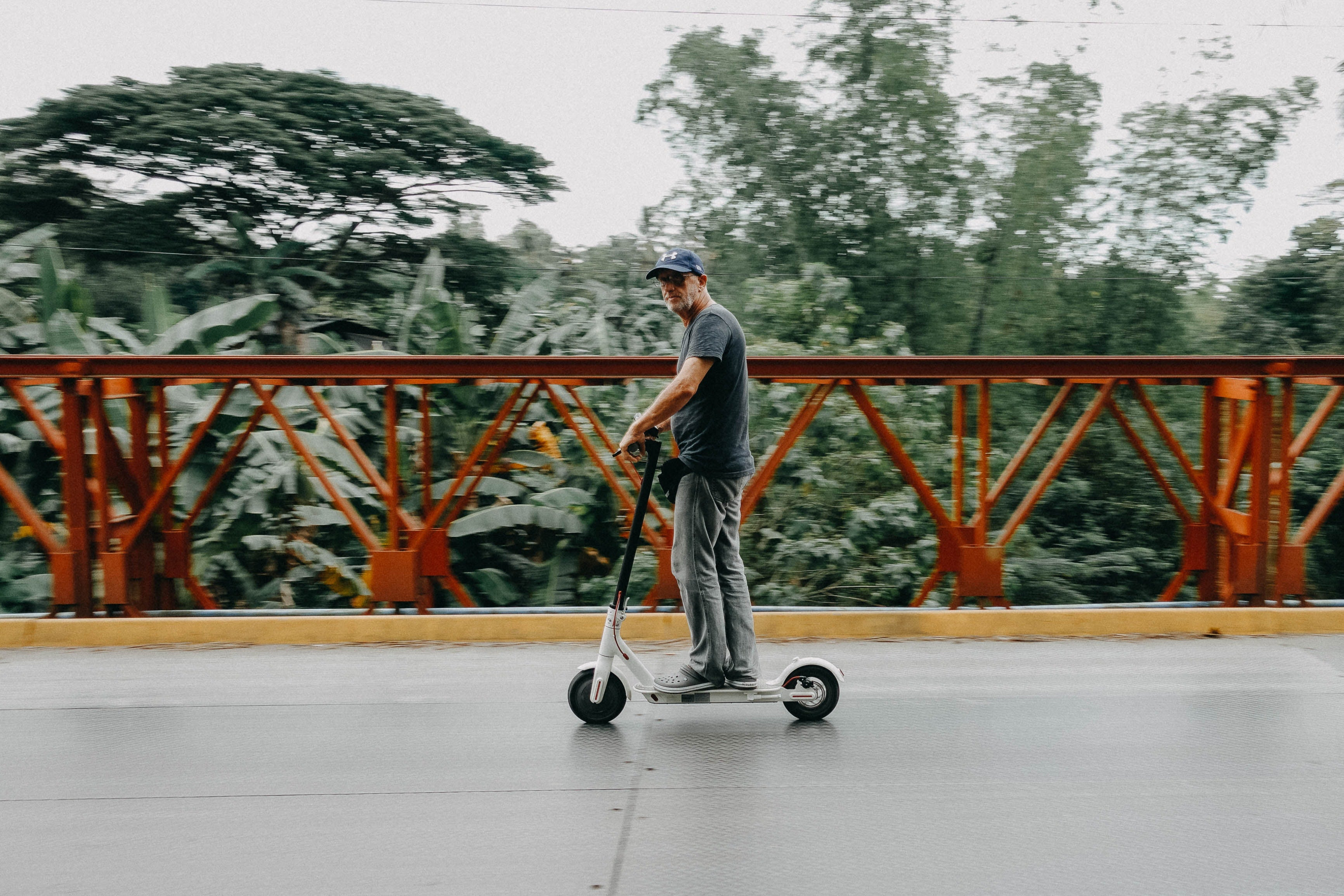 E-scooters to be permitted on public roads, cycle lanes and tracks.