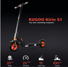 Load image into Gallery viewer, KUGOO  S1 KIRIN Folding Electric Scooter