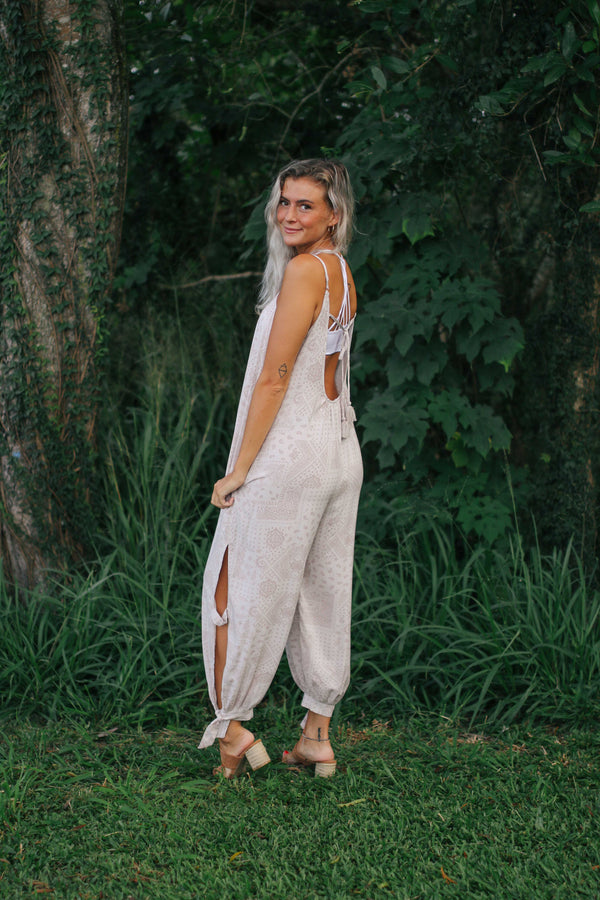Paisley Slouchy Jumpsuit (2 colors)