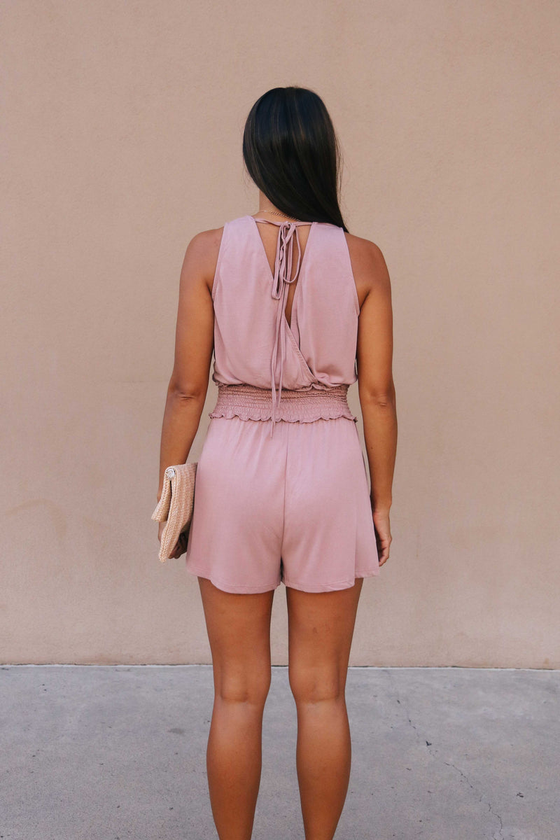 Smocked Romper (2 colors available)
