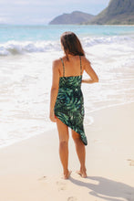 Load image into Gallery viewer, Tropical Asymmetric Dress