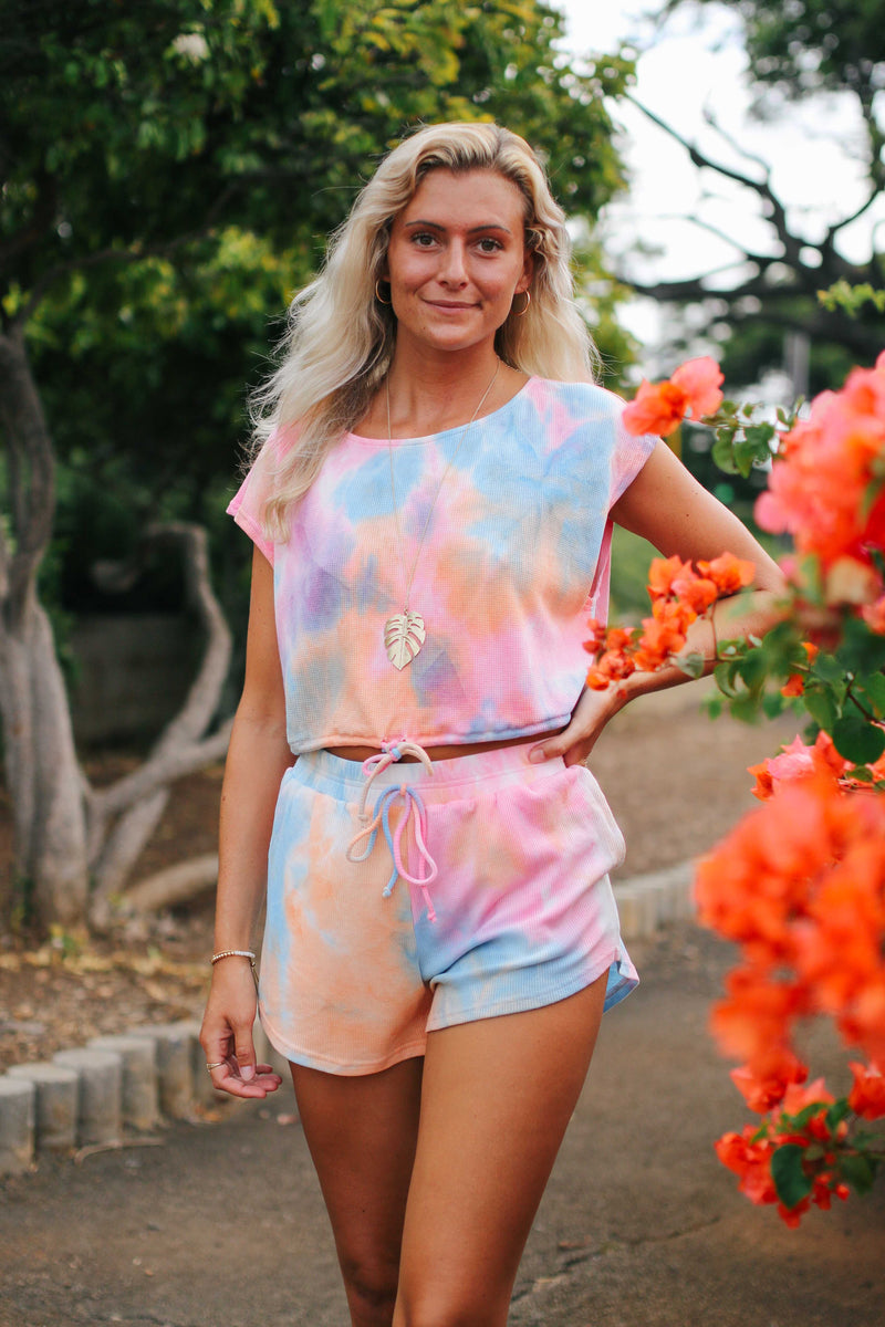 Tie Dye Lounge Set (2 COLORS)