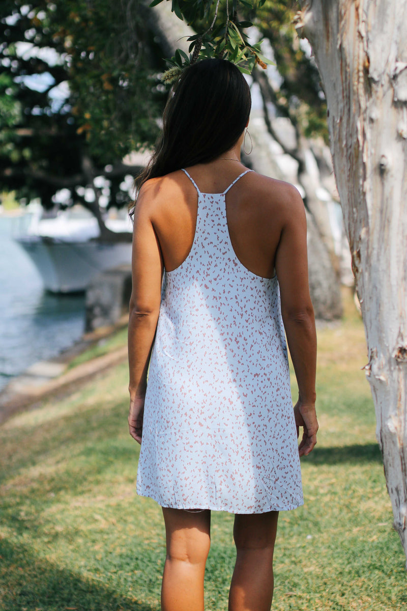 Polka Dot Tunic Dress (2 colors available)