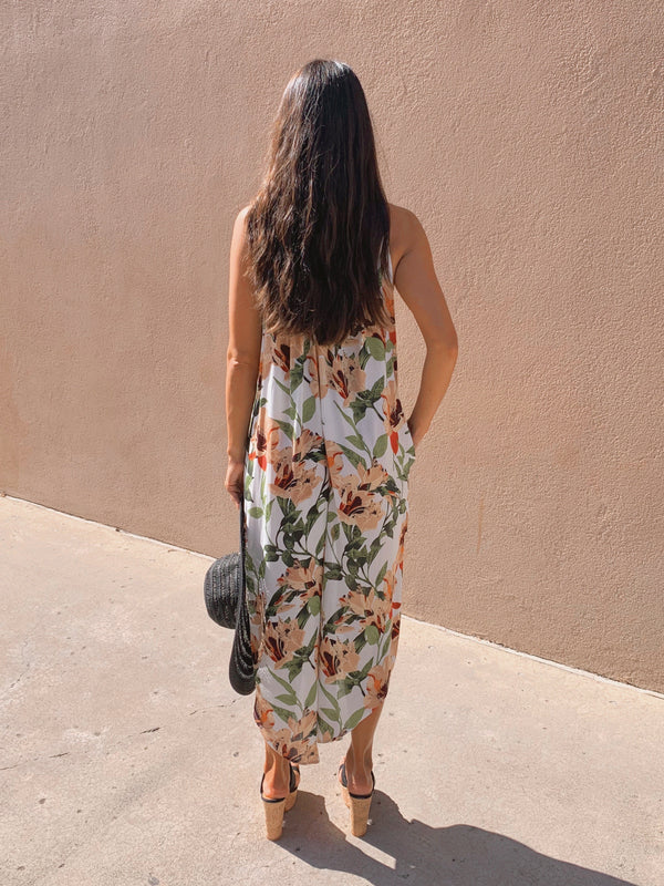 Floral Loose Fit Jumpsuit