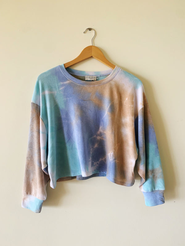 Tie Dye Sweater (matching shorts available)