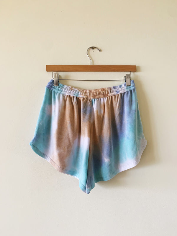 Tie Dye Lounge Shorts (matching top available) (RESTOCK)
