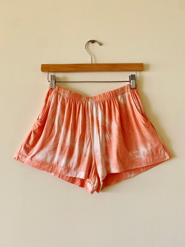 Tie Dye Elastic Shorts (2 colors)