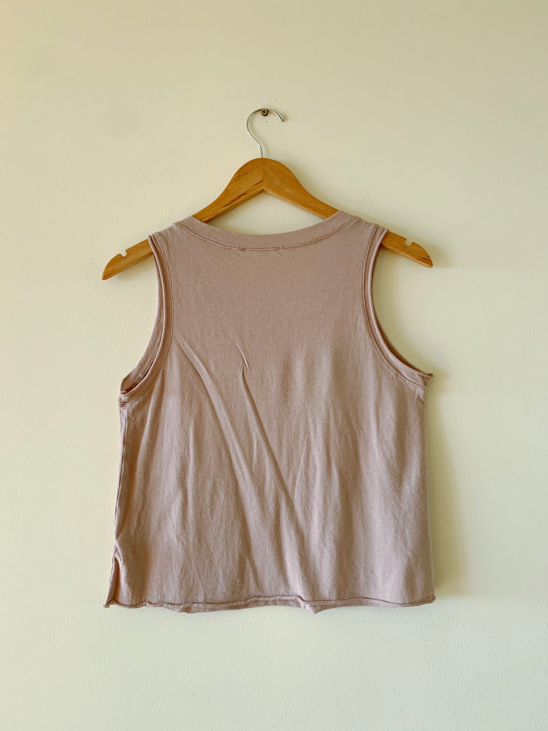 Raw Hem Tank Top