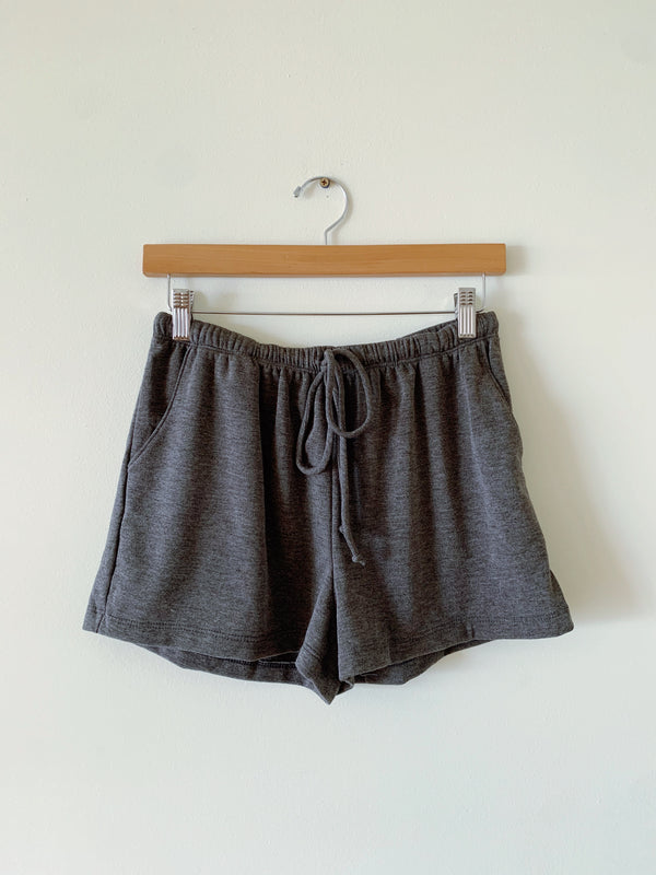 Terry Drawstring Shorts (2 colors)