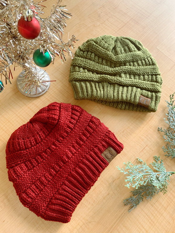 Knit Beanie (8 colors)